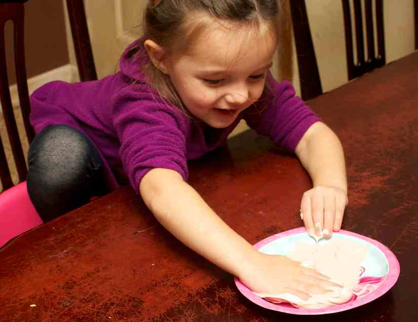 puffy paint cookie craft