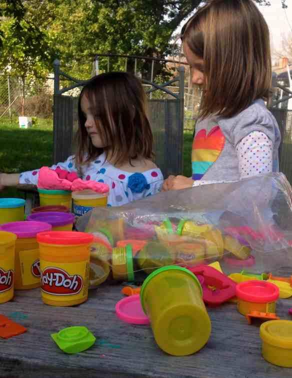 homeschool preschool activities play-doh