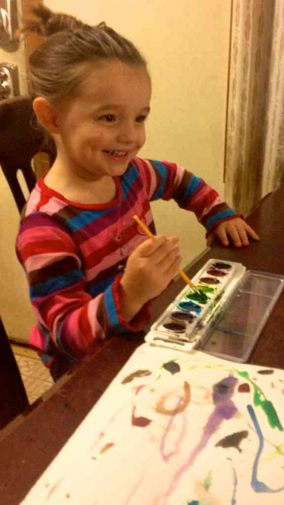 homeschool preschool activities painting