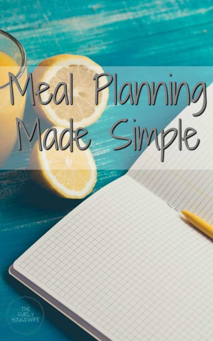Meal planning is essential to any family's success. I've tried numerous methods of meal planning. Click here for meal planning made easy.