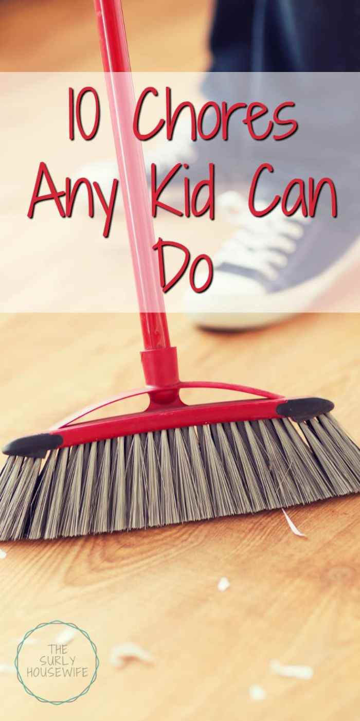 Chore Ideas for Kids | Chores for kids |