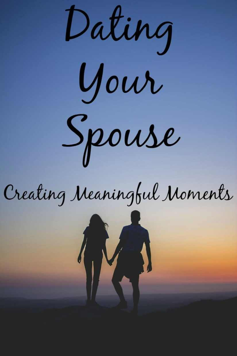 The best marriage advice I can give to other couples is never stop dating your spouse. Click here to find out our simple tradition that keeps us dating.