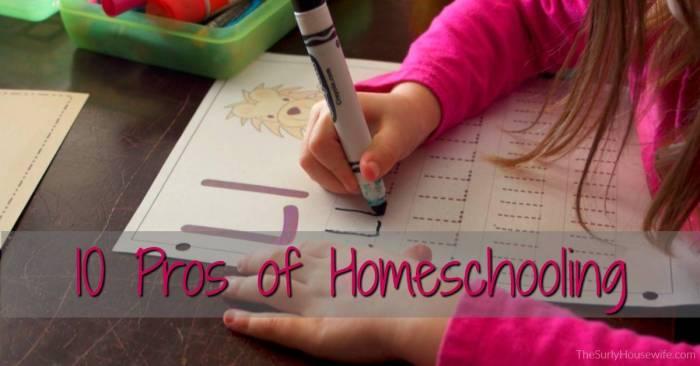 Pros Of Homeschooling