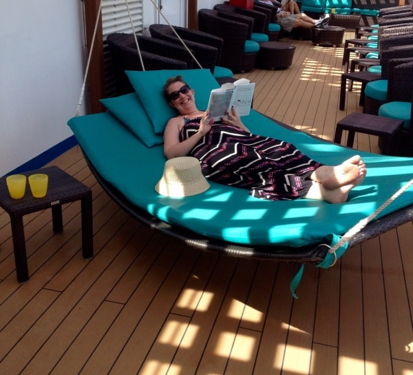 Serenity Hammock aboard the Carnival Dream
