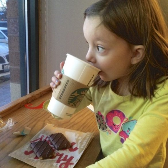 Mofo at Starbucks