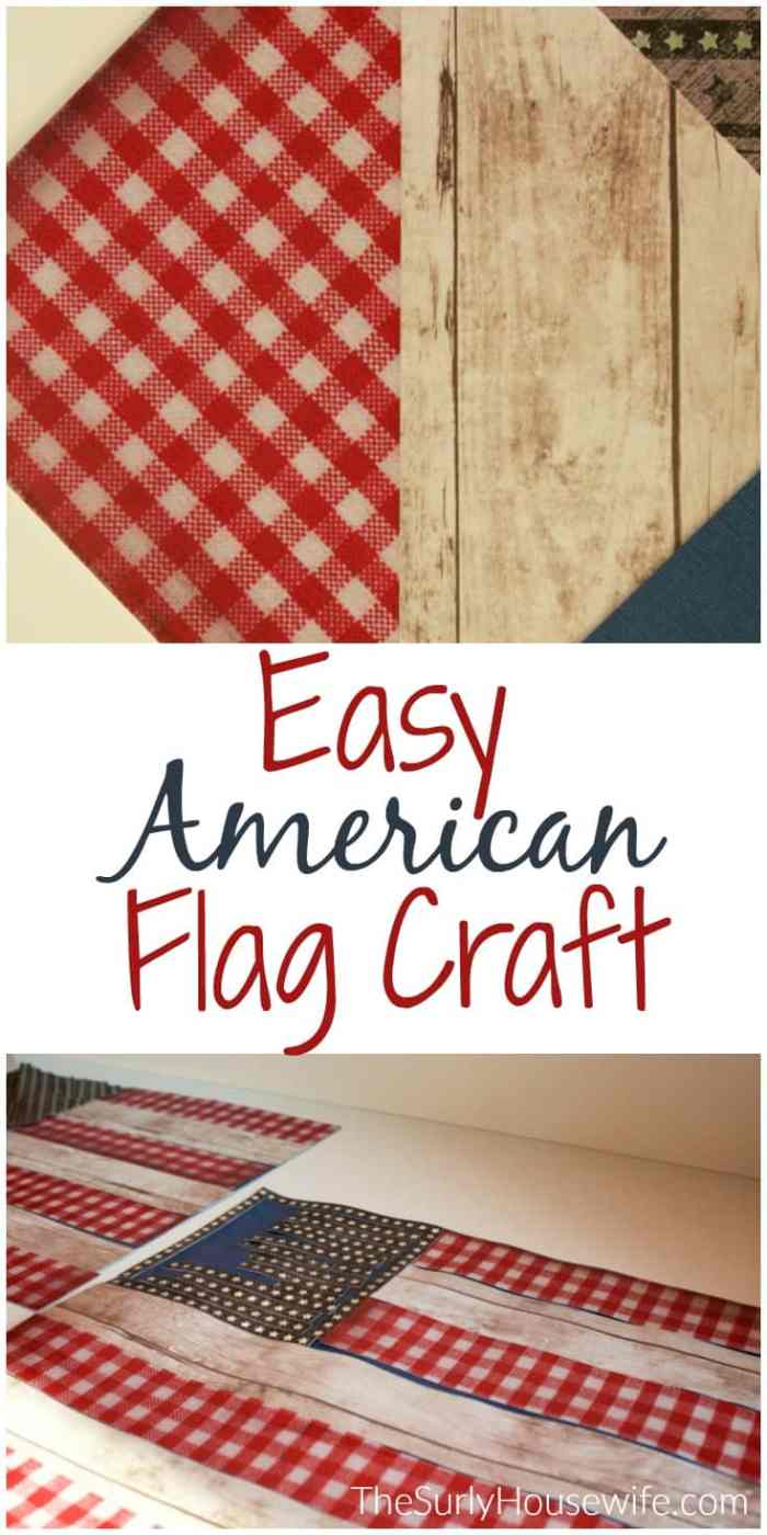 Do you want to do American Flag craft for Veteran's Day for kids? Do you have a ton of scrapbook paper? Then check out this post for an easy DIY scrapbook paper craft project the kids will love!