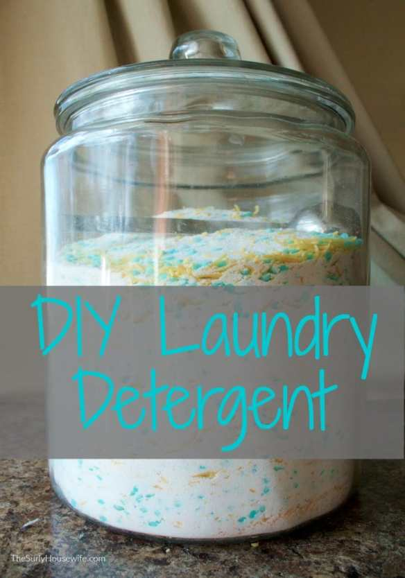 Laundry is an endless chore in any house. This method for DIY powdered laundry detergent will change the way you do laundry. Click here for recipe!