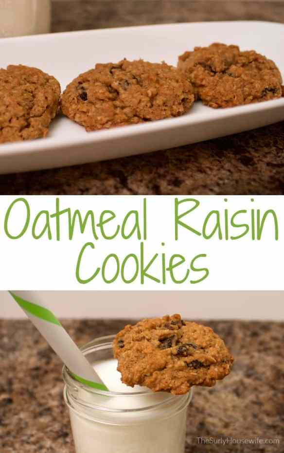 Oatmeal raisin cookies are the perfect sweet bite. They are soft, chewy, and healthy enough you feel good giving them to your kids. Check out my recipe!!