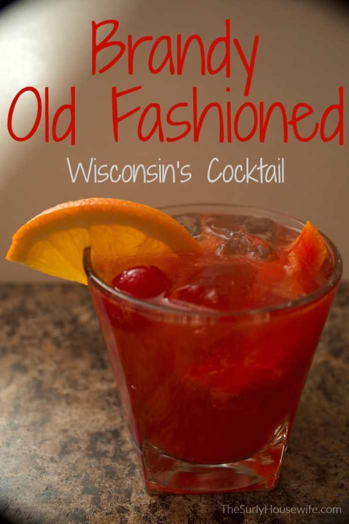 Wisconsin's version of the Old Fashioned cocktail, the brandy old fashioned! It can be sweet or sour but it's a simple recipe either way.