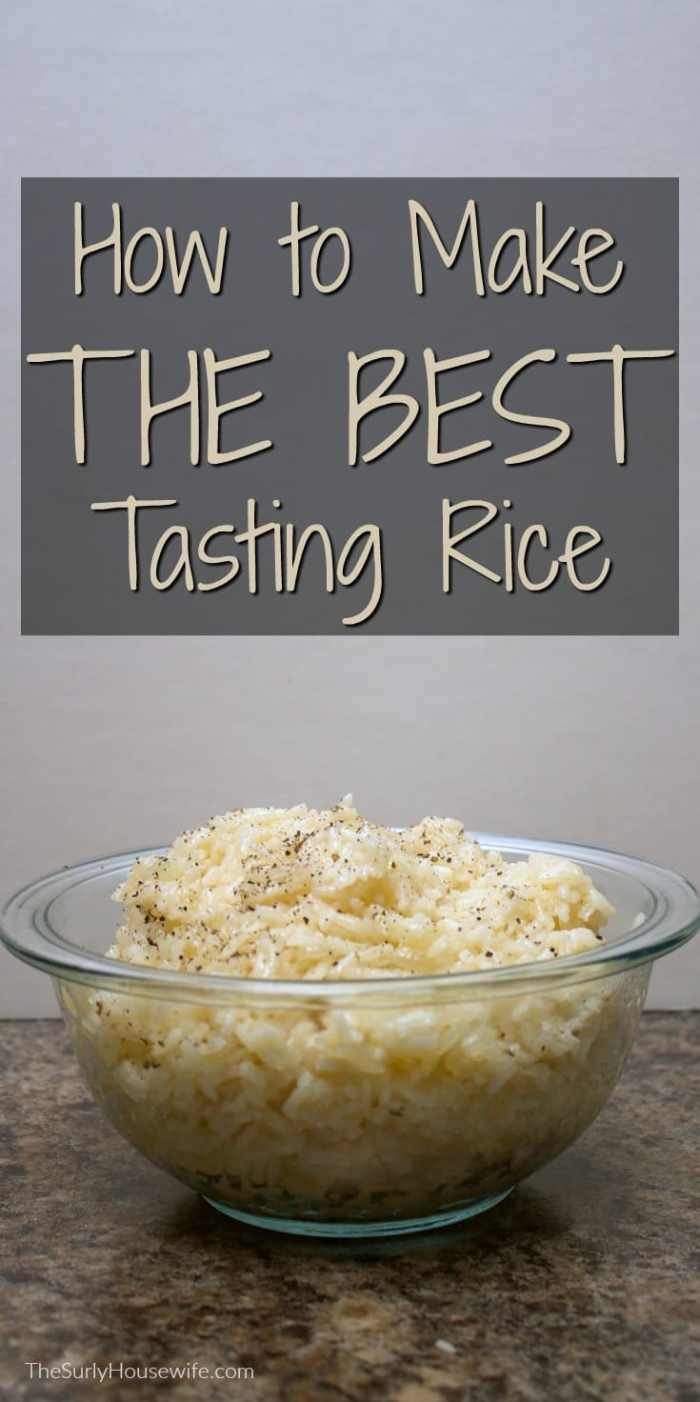 Every great cook needs a great rice recipe. This butter rice recipe will be your go-to recipe when it comes to making white rice. Check it out!