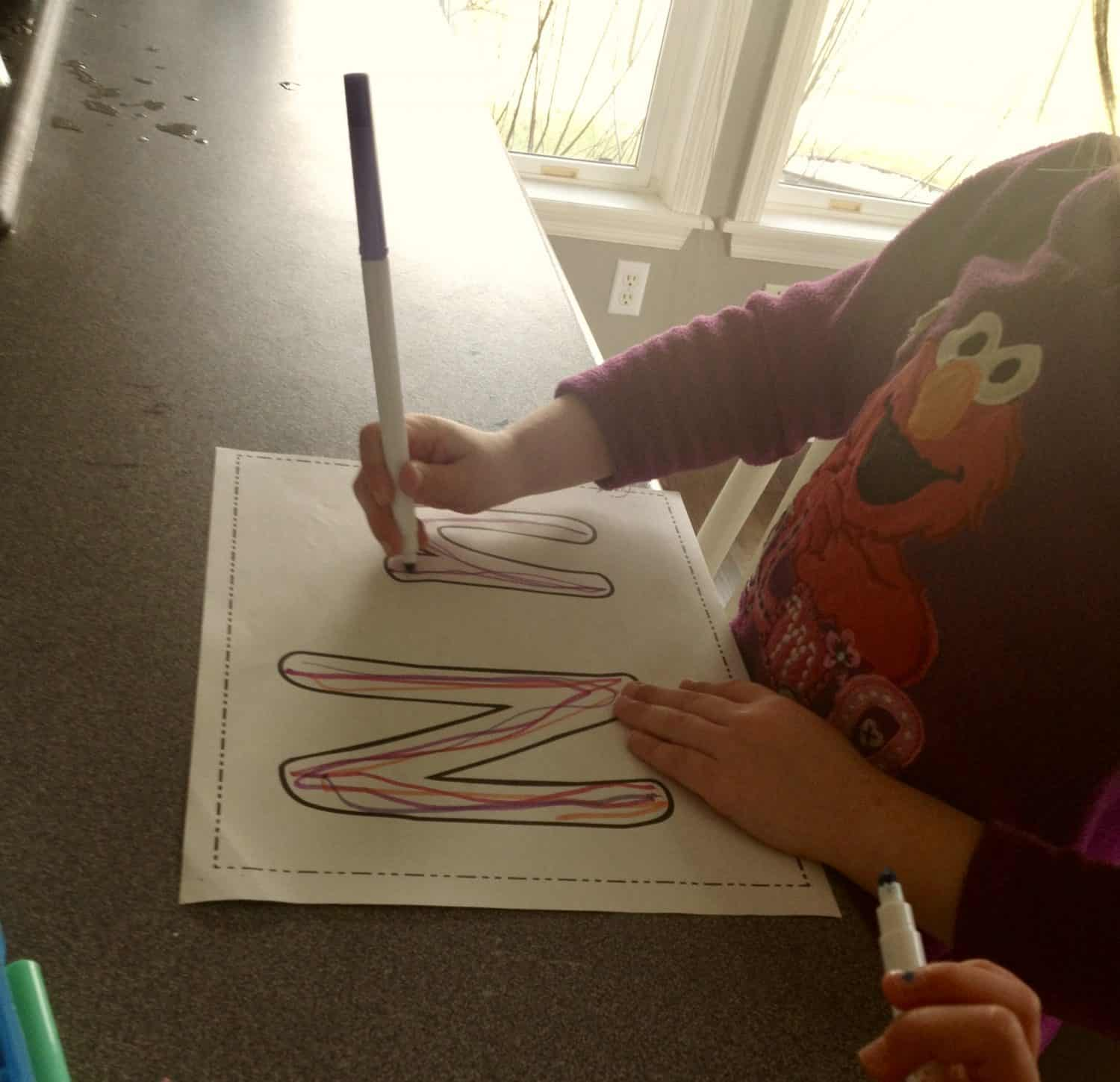 Letter N Activities And Books For Home Preschool