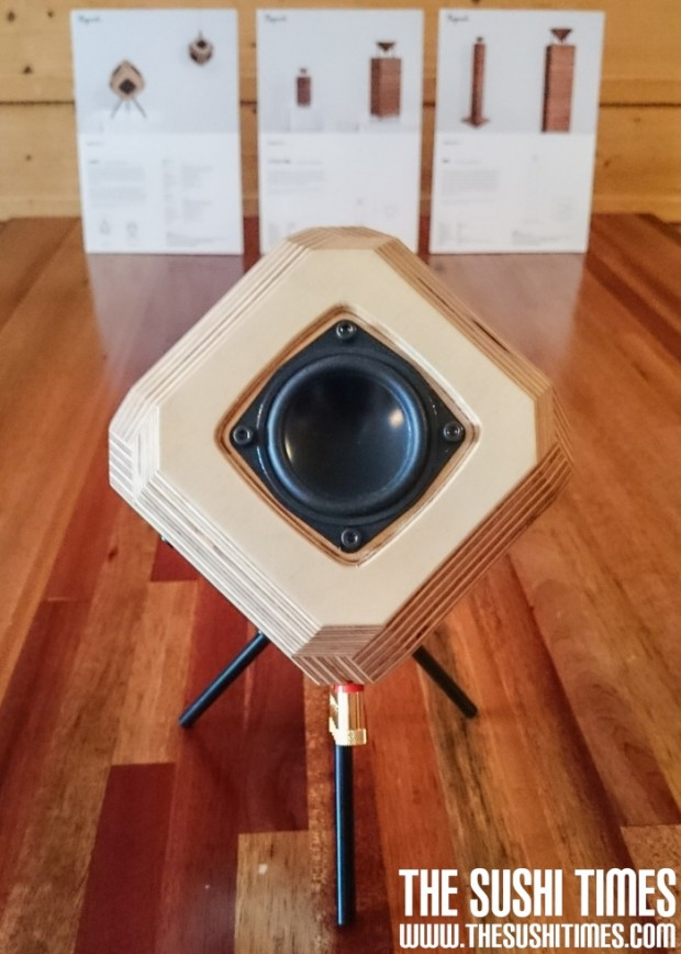 Speaker by Taguchi Craftec. Foto van Kurimu