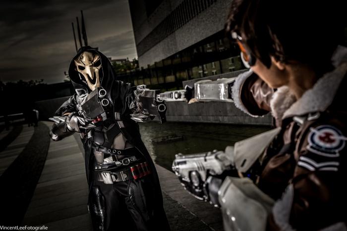 Cosplays door Deathstrike Cosplay en SakuraFlor Arts en Cosplay. Foto door Vincent Lee Fotografie.