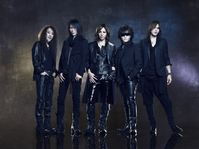 X Japan. Toen en nu. Beelden via X Japan management.