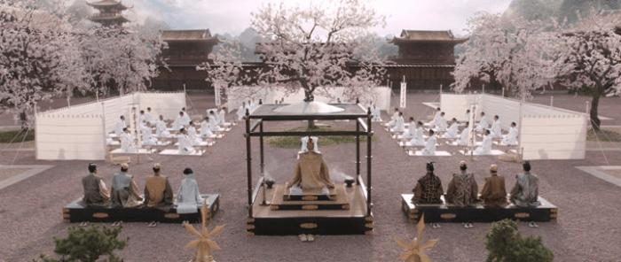Seppuku scene uit 47 Ronin.