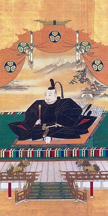 Tokugawa Ieyasu, de eerste shogun van Japan.