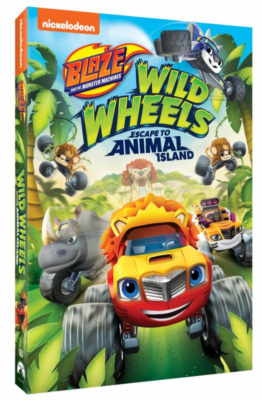 Blaze And The Monster Machines The Big Ant Venture : blaze, monster, machines, venture, Blaze, Monster, Machines:, Wheels, Escape, Animal, Island, Available, September