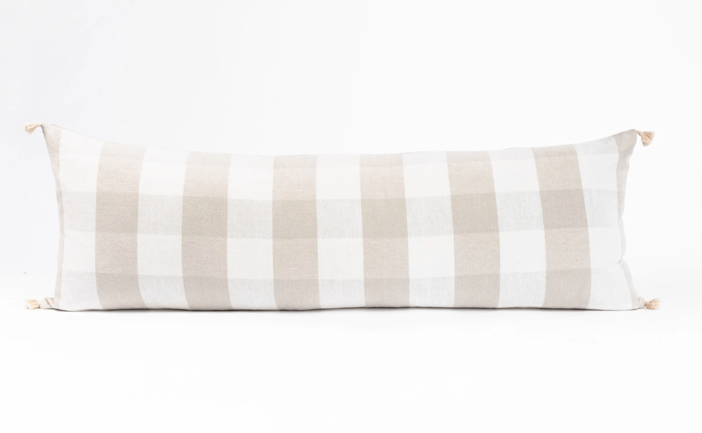 Juniper Studio Lumbar Pillow Check Product Photo