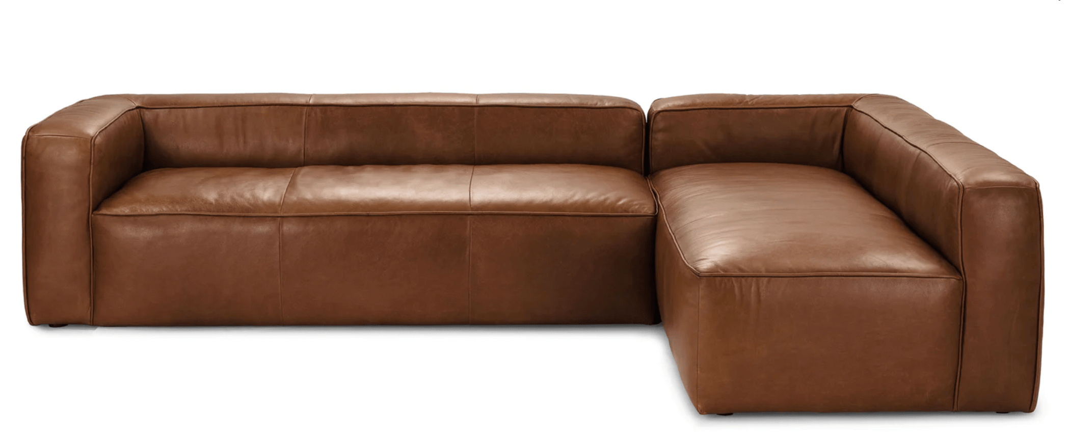 Article Mello Sectional in Taos Tan Product Photo