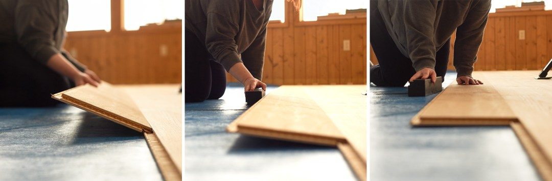 stuga kahrs board installation steps