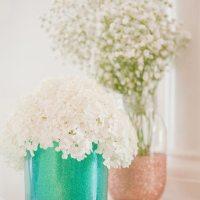 Tutorial: Vasos con purpurina