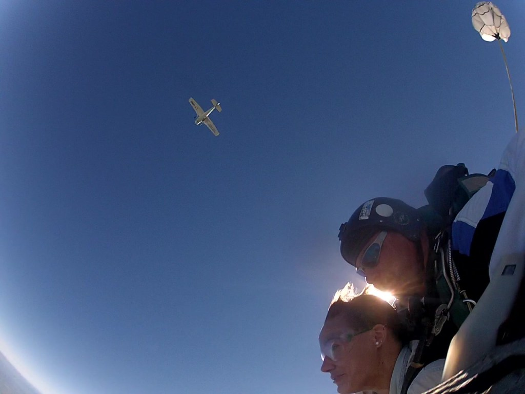 Skydiving in Alta Gracia