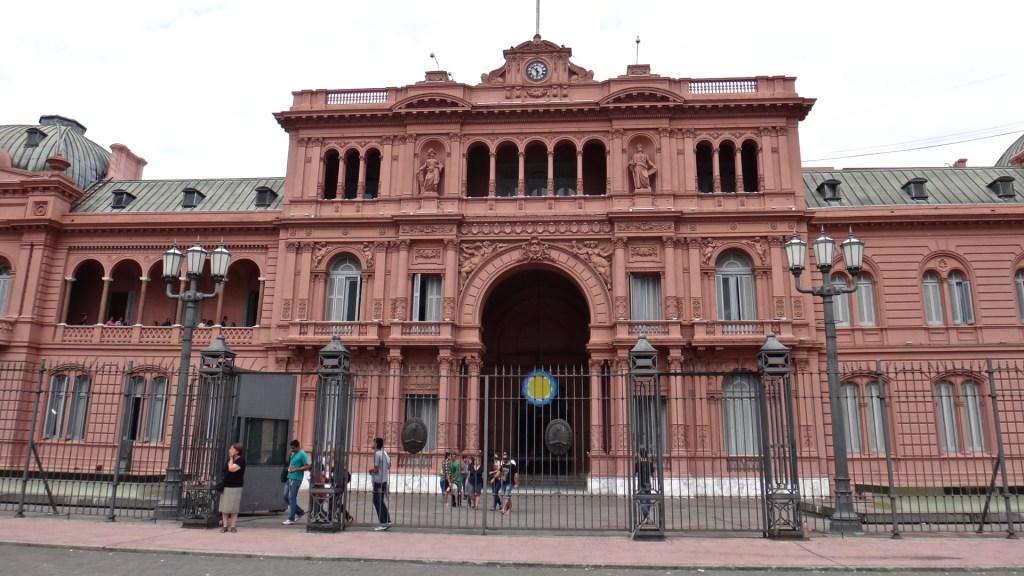 La Casa Rosada, Buenos Aires, Argentina