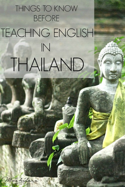 Teaching English in Thailand | The Mochilera Diaries
