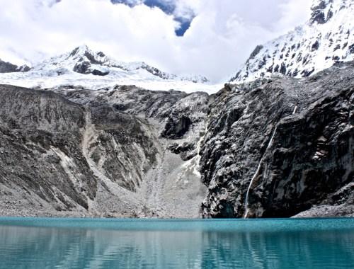 Laguna 69 in Peru's Cordillera Blanca