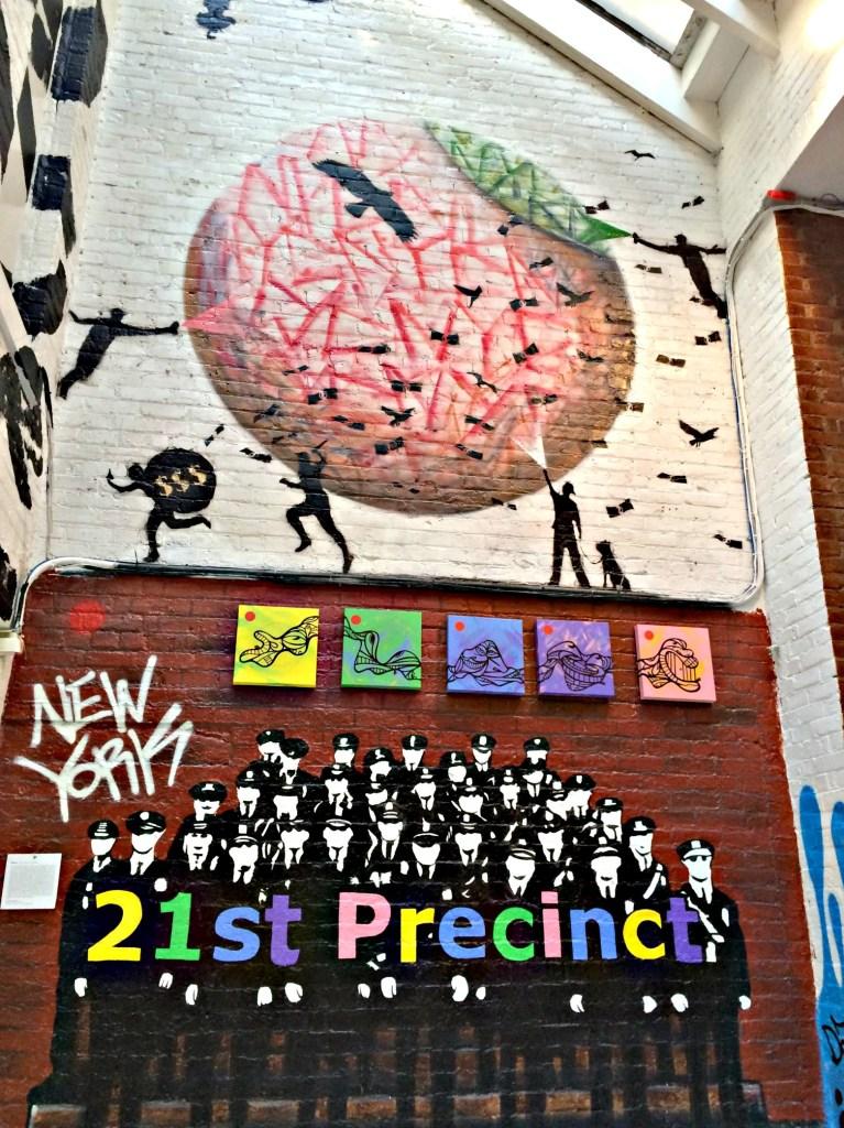 21st Precinct Art Exhibit, NYC August 2014