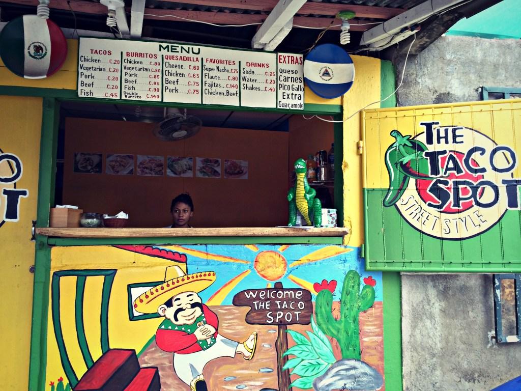 Taco Spot, San Juan del Sur, Nicaragua