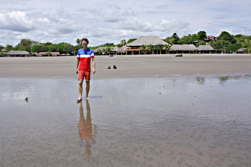 Mak at Playa Pochomil