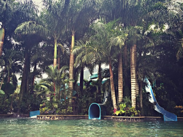 Waterslides at Baldi Spa and Resort