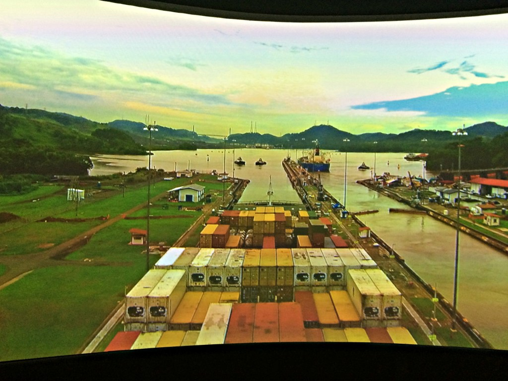 Panama Canal simulation