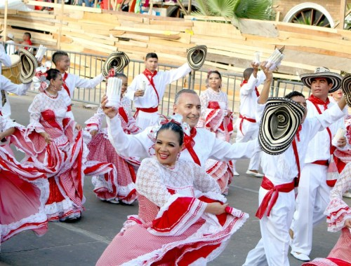 Parade at Carnaval de Barranquilla