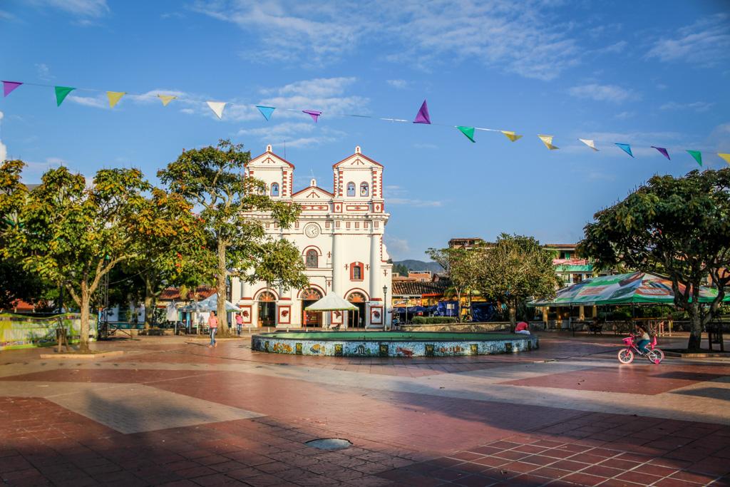 The main plaza