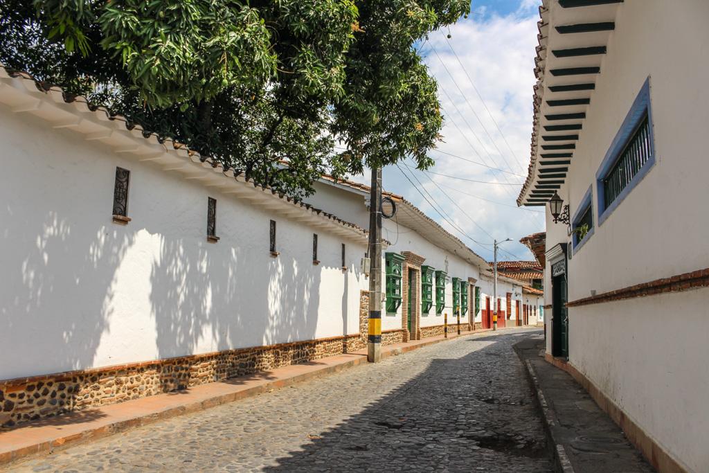 Colonial architecture in Santa Fe de Antioquia