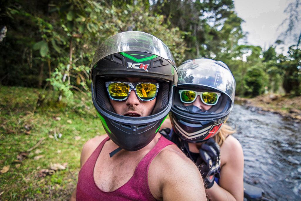 ATV riding in Guarne, Colombia | The Mochilera Diaries