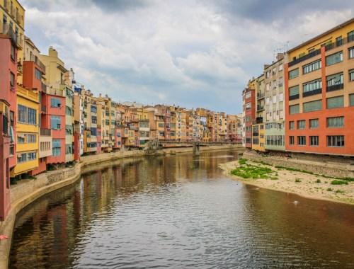 Rivery Onyar, Girona, Catalonia