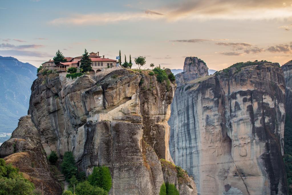 The monasteries of Meteora, Greece