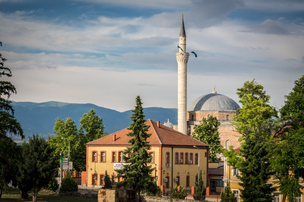 Mosque in Skopje, Macedonia