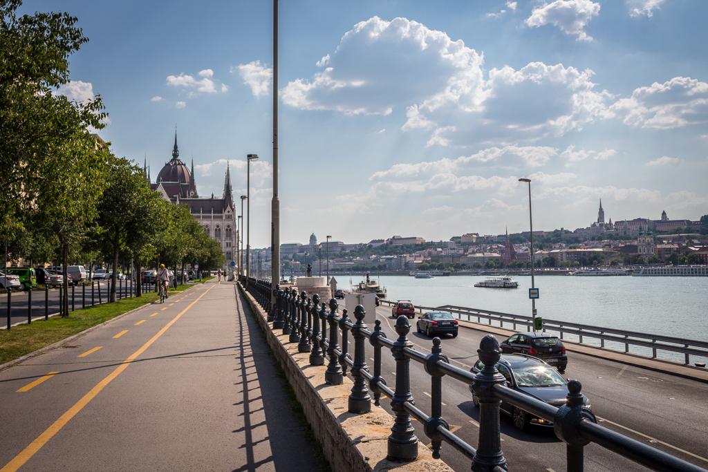 The Danube River, Budapest, Hungary