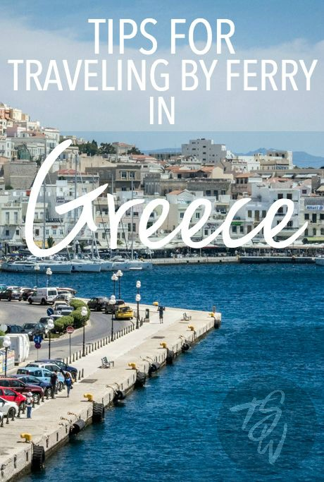 Best Way To Travel Between Islands In Greece
