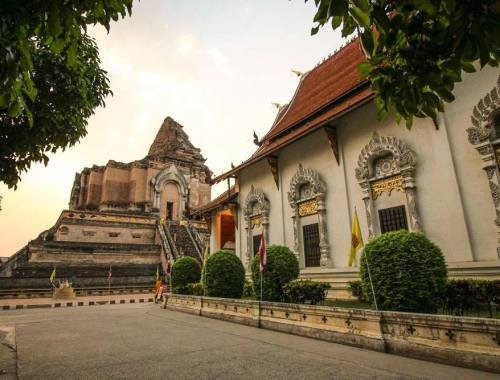 Wat Chedi Luang, Chiang Mai, Thailand. Photo by Paper Planes