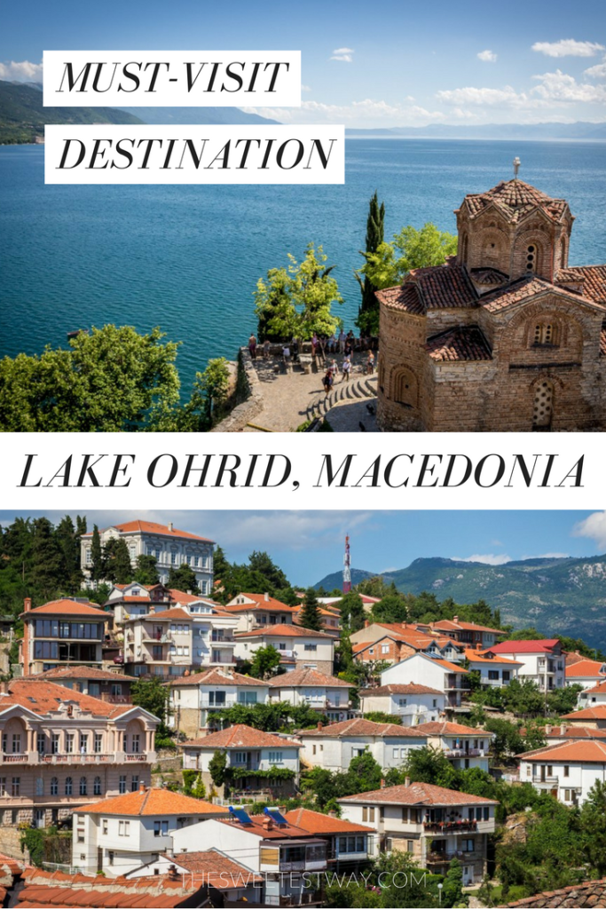 Lake Ohrid, Macedonia is a stunning must-visit beauty in the Balkans! Don't miss it!