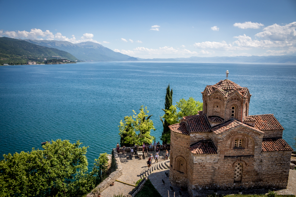 Church of St. John at Kaneo, Lake Ohrid, Macedonia