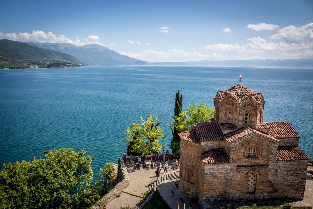 Church of St. John at Kaneo, Lake Ohrid, Macedonia