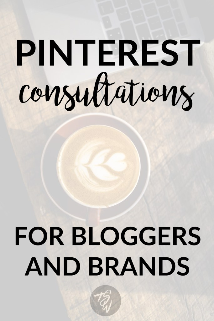 Pinterest consultations for bloggers and brands