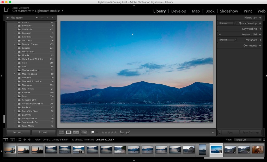 Build a Beautiful Blog - Editing Photos with Adobe Lightroom