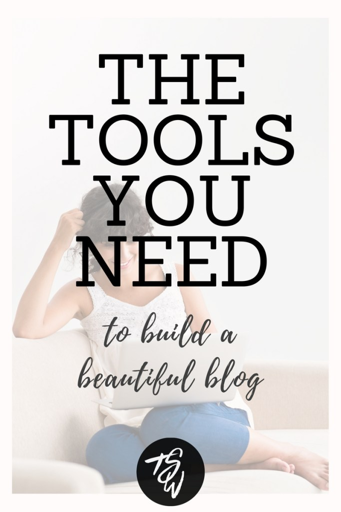 Want to build a beautiful and successful blog that stands out from the rest? These are the tools I recommend!